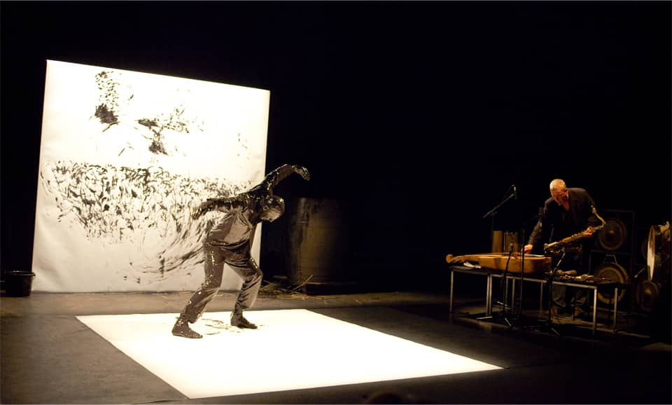 Josef Nadj - Les corbeaux (performance)