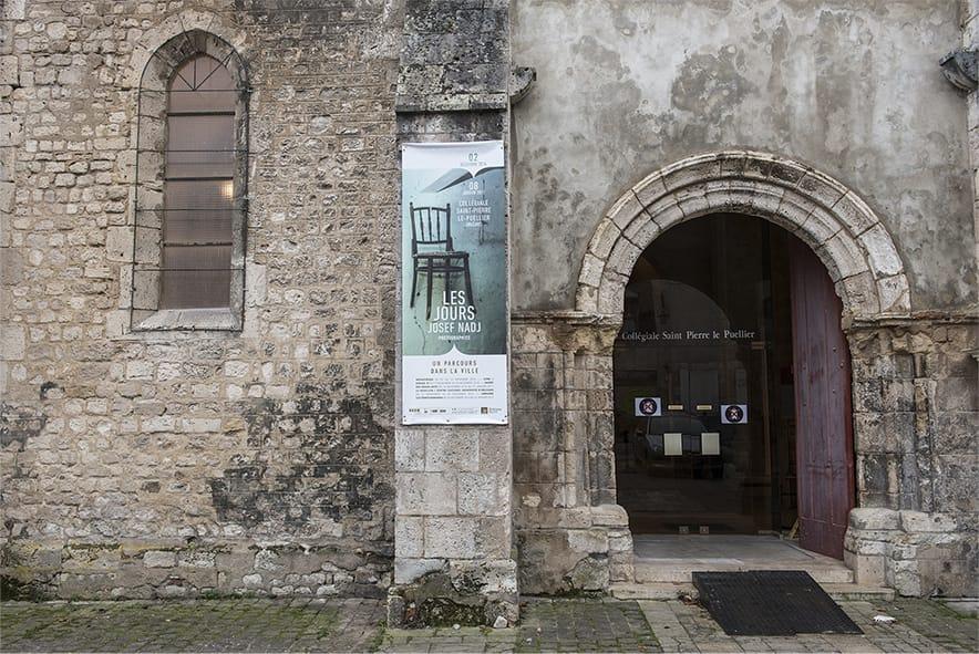 Josef Nadj - Les jours - exposition Collégiale Saint-Pierre-le-Puellier, Orléans